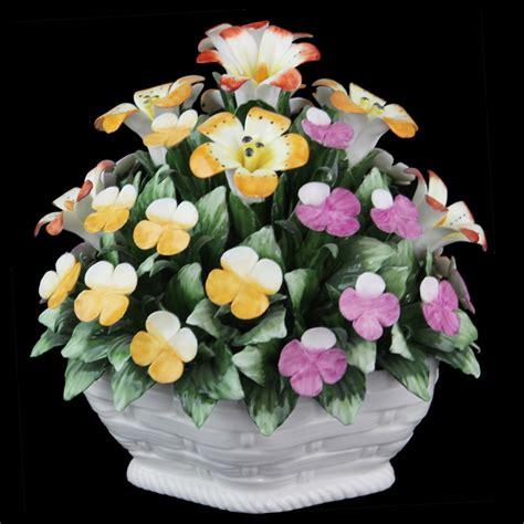 fiori di ceramica fiori di ceramica handmade formato yh8064 17x18cm