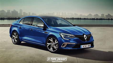 renault sedan the renault megane sedan gt rendering makes us long for an