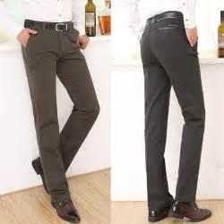 2015 men fashion dress pants jeans denim black slim tight