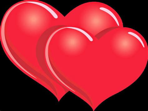 imagenes de dos corazones juntos corazones rojos im 225 genes de amor
