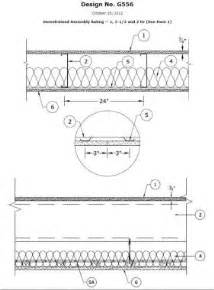 2 hour ceiling assembly ul g556 sure span 174 ul assemblies
