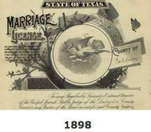 Collin County Marriage License Records The Collin County County Clerk S Marriage Records 1884 1949 Scanned And