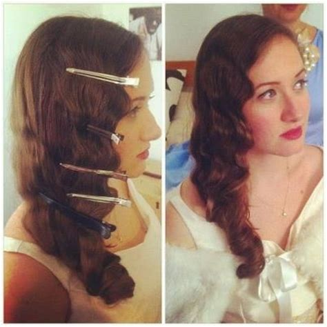 how to do easy 1920s hairstyles for mid hair with fringe 1920 hairstyles long hair