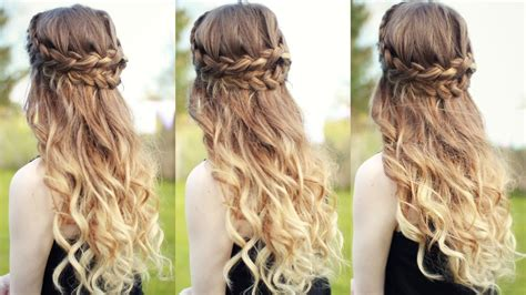 Half Up Half Wedding Hairstyles With Braid by Braided Hairstyles Hairstyles