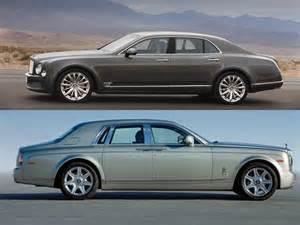 Rolls Vs Bentley Rolls Royce Phantom Vs Bentley Mulsanne 2017 Ototrends Net