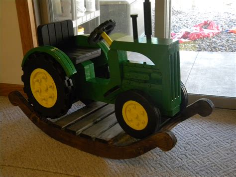 wooden rocking tractor plans plans diy