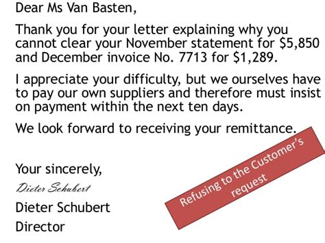 Explanation Letter Why I Cannot Submit Requested Document Letters Requesting Payment