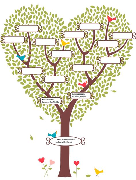 drawing a family tree template drawing a family tree template drawing sketch picture