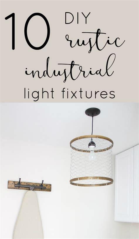 diy rustic light fixtures 10 diy rustic industrial light fixtures the inspired hive