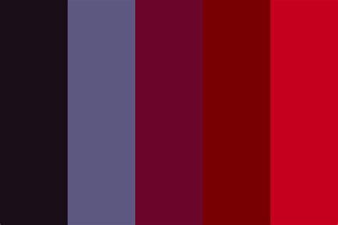 berry color cherry berry color palette