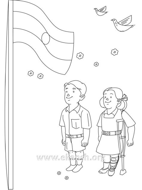 coloring pages of independence day of india india independence day coloring pages murderthestout