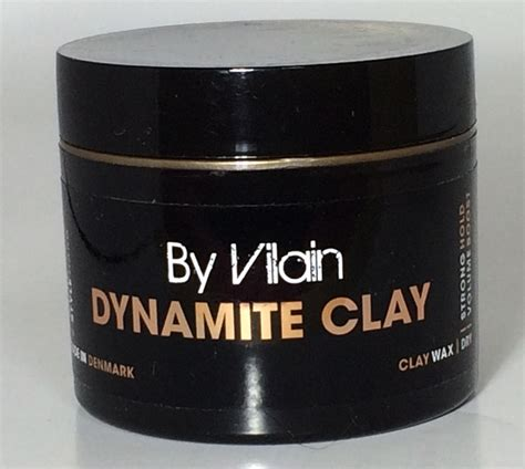Pomade By Vilain Dynamite Clay s 225 p vuốt t 243 c by vilain dynamite clay ch 237 nh h 227 ng tại việt nam