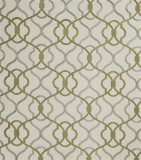 home decor print fabric eaton square monsoon eucalyptus