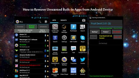 how to remove apps from android how to remove built in apps from android device