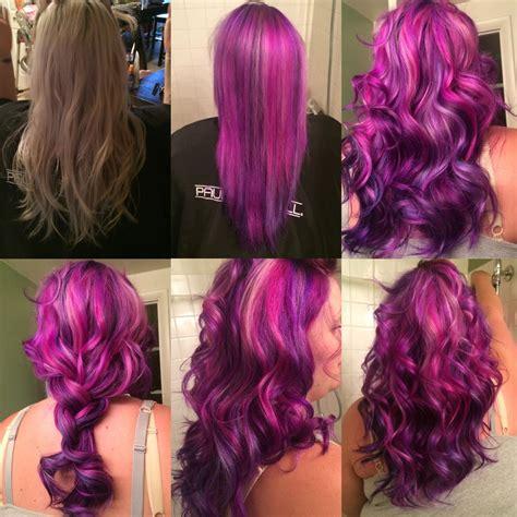 pravana violet hair color pravana vivids hair color pink violet magenta blue