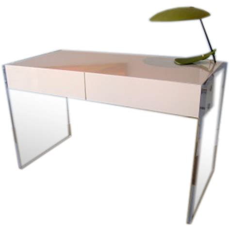 white acrylic desk desks floating white lucite desk design lucite desk