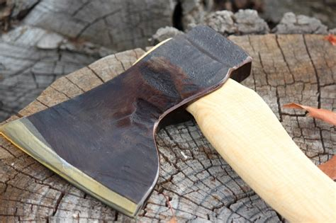 Swedish Handmade Axes - swedish handmade large wood axe bushcraft canada stuff