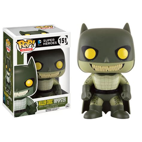 Pop Nosh The Other Blogs Edition by Dc Heroes Pop Vinyl Figure Batman Impopster Killer Croc