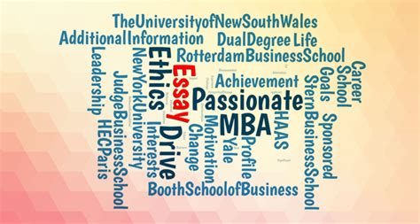 Nus Mba Essays 2017 by Mba Essays Topics From Top 20 Business Schools