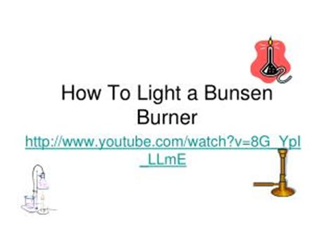 ppt bunsen burner powerpoint presentation id 353382