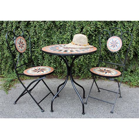 Garden Table Chairs Metal Garden Furniture Tbs Discount Furniture A Large
