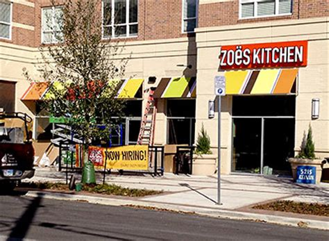 Zoes Kitchen Franchise by Signs Of Hanover S Tenant Swlot