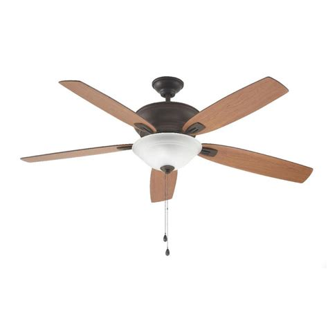 oil rubbed bronze ceiling fan light kit home decorators collection trafton 60 in indoor oil