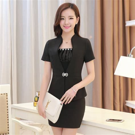 Blazer Korea Black Style 3 summer style fashion skirt suits new 2015 korean