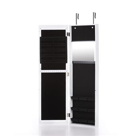 wall mounted jewelry armoire cabinet door wall mounted mirrored jewelry cabinet armoire storage