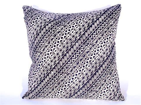 pillow batik cap liris motif 2 sides cotton 18x18 quot by abdul syukar the language of cloth