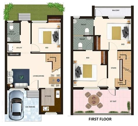 home design 70 gaj 20 x 40 floor plan joy studio design gallery best design