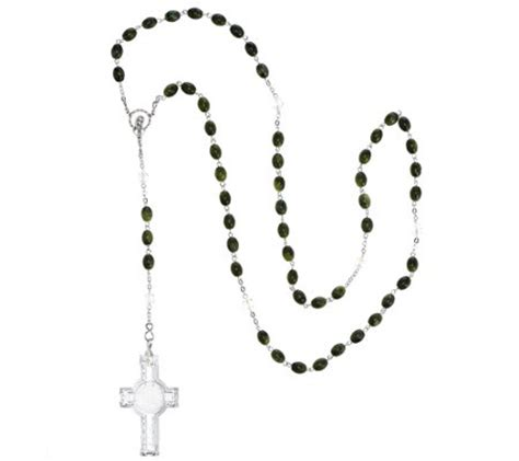 marble rosary waterford and connemara marble rosary h208362 qvc