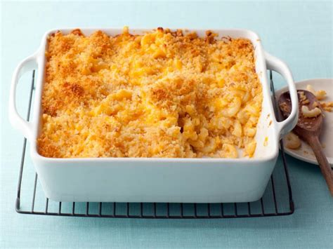 Makaroni Dower baked macaroni and cheese recipe alton brown food network
