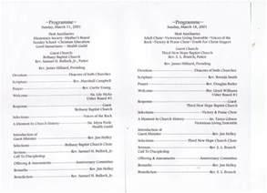 anniversary program template church program template cyberuse