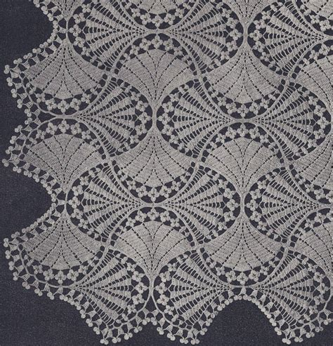 Vintage Crochet Pattern To Make Block Lace Flower vintage crochet pattern to make fan flower bedspread motif
