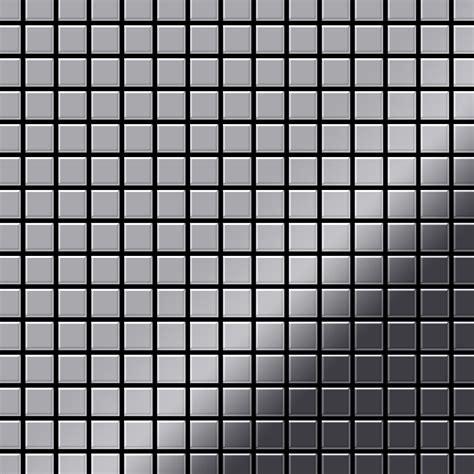 fliesen hochglanz grau mosaik fliese massiv metall edelstahl marine hochglanz