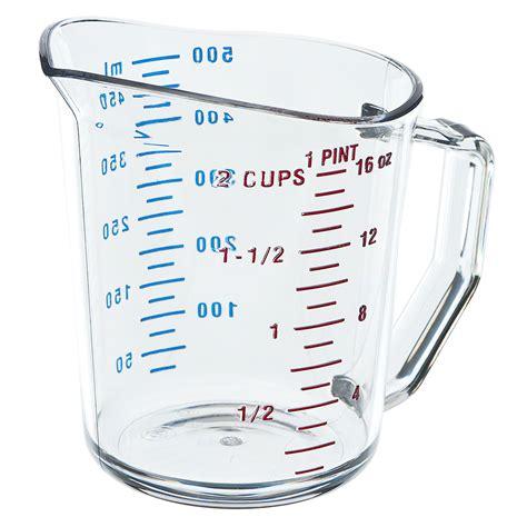 cambro 50mccw 1 pint measure cup camwear 174