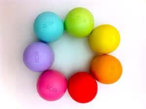 colored chapstick lemon drop smooth sphere lip balm spf 15 easter eggs