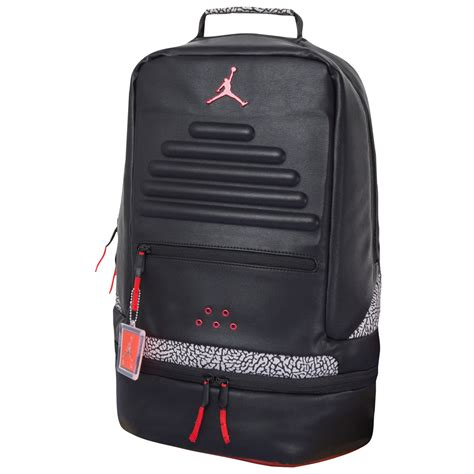 Backpack Retro 3 black and white cement backpacks sneakerfits