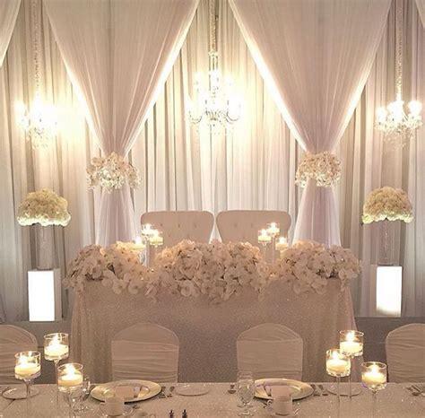 diy wedding table backdrop simple backdrop wedding ideas