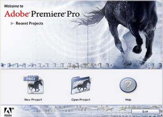 tutorial membuat opening video dengan adobe premiere adobe premiere pro pengenalan dasar