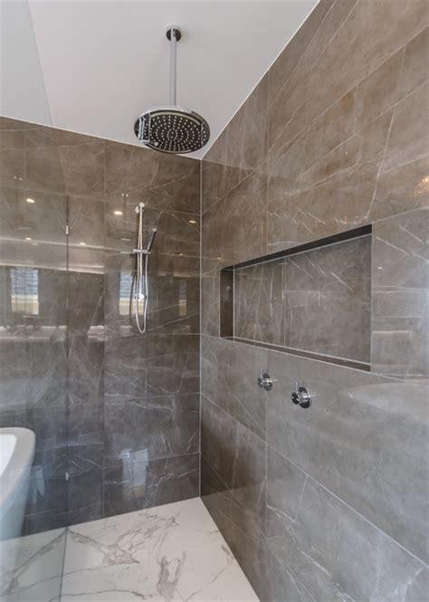 Maribyrnong Ensuite, Walk In Robe, Beauty Room & Family Bathroom   Modern   Bathroom   melbourne