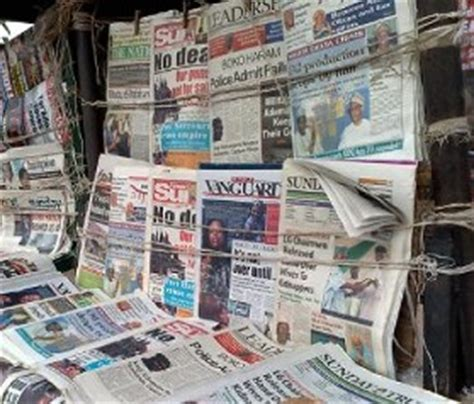 nigerian newspapers read them online nigeria read all nigerian newspapers online for free on your
