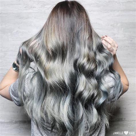 back views of gray hair styles colore capelli la nuova tendenza dei capelli grigi trend capelli