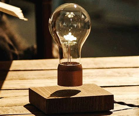 floating light bulb floating light bulb floating furniture futuristic design