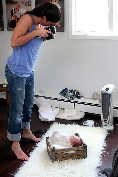 hängematte zu hause tolle ideen um zu hause ein babyshooting zu machen