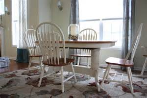 Painted Dining Room Set by Chalk Painted Dining Room Set Classic Fauxs Amp Finishes