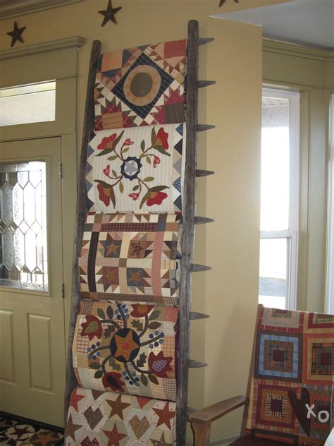 Wall Mounted Quilt Display Continually February 2011
