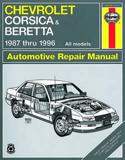 small engine repair manuals free download 1996 chrysler concorde transmission control haynes repair manual for chevy corsica and beretta 1987 thru 1996