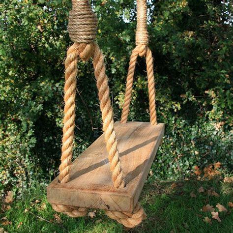 Handmade Swings - garden swings to make your summer swing along nicely